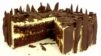Торт шоколадно-карамельный - фото шаг 6