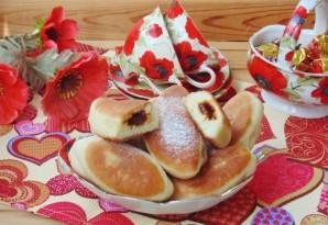 Жареные пирожки со сливовым джемом - фото шаг 10
