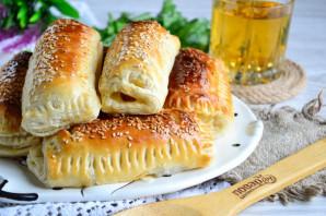 Сосиски с сыром в тесте - фото шаг 8