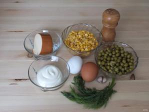 Салат из горошка и кукурузы - фото шаг 1