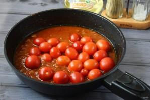 Жареная курица с луком-шалот и помидорами - фото шаг 6