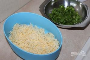 Салат из яиц и сыра - фото шаг 2