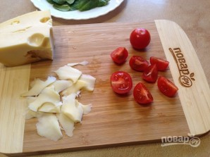 Теплый салат со шпинатом - фото шаг 5