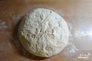 Хлеб на кефире в духовке - фото шаг 4