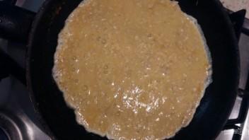 Омлет с овсяной кашей - фото шаг 2