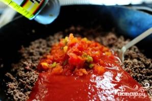 Жаркое из говядины с фасолью и помидорами - фото шаг 2