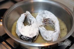 Сазан на сковороде - фото шаг 5