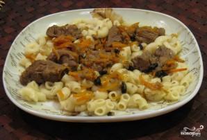 Тушеное мясо с морковью - фото шаг 4