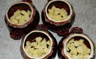 Жаркое в горшочке с картофелем - фото шаг 7