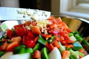 Овощной гарнир к мясу - фото шаг 5