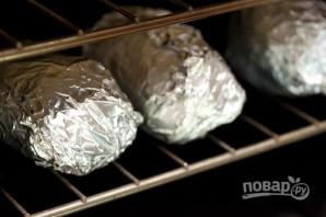 Рецепт запеченной картошки в фольге - фото шаг 4