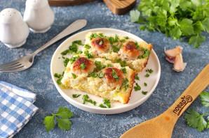 Запеканка из кабачков с рисом и фрикадельками - фото шаг 8
