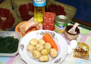 Суп с кукурузой - фото шаг 1