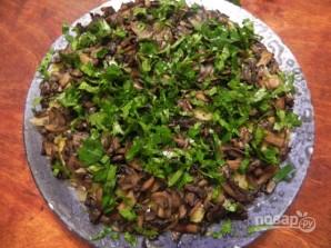 """Слоеный салат """"Лемберг"""" с грибами - фото шаг 11"""