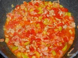 Фриттата с мясом и овощами - фото шаг 2