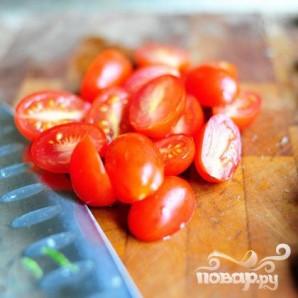 Паста салат с помидорами, цукини, и сыром Фета - фото шаг 6