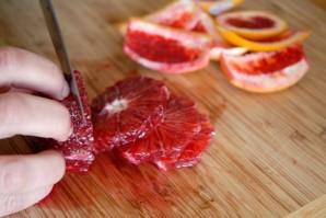 Апельсины в карамели - фото шаг 2
