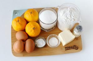 Пирог с мандаринами - фото шаг 1
