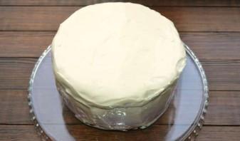 Торт чернично-муссовый - фото шаг 10