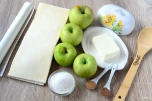 Кармашки с яблочными пирожками - фото шаг 1