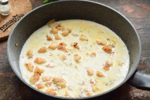 Тальятелле с креветками в сливочном соусе - фото шаг 5