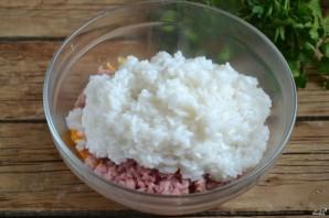 Голубцы, фаршированные мясом и рисом - фото шаг 4