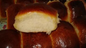 Пирожки с горохом в духовке - фото шаг 9