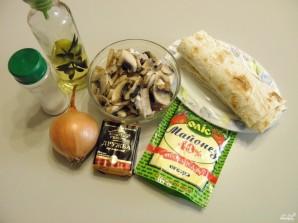 Рулет с грибами и сыром - фото шаг 1