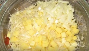 """Манты """"Почти вегетарианские"""" - фото шаг 4"""