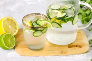 Огуречный лимонад с лаймом - фото шаг 6