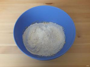 Кокосовое печенье с фруктовой начинкой - фото шаг 3