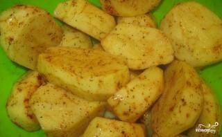 Лодочки из картофеля - фото шаг 1