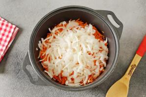 Капуста с томатной пастой на зиму - фото шаг 3