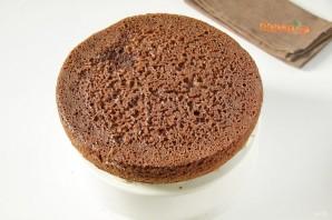 Шоколадный тортик - фото шаг 9