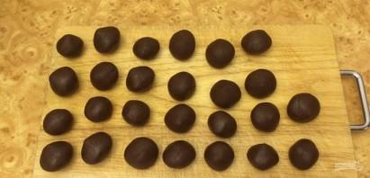 Треснутое шоколадное печенье - фото шаг 4