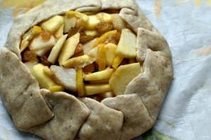 Галета с грушами, яблоками и изюмом - фото шаг 5