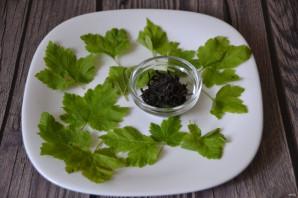 Чай из листьев черной смородины - фото шаг 1