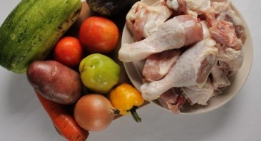 Хашлама из курицы с картошкой - фото шаг 1
