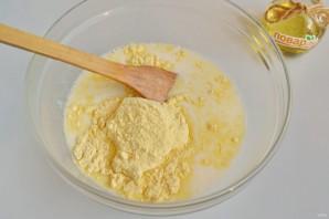 Кукурузный бездрожжевой хлеб - фото шаг 4
