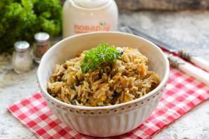 Овощное рагу с рисом и баклажанами - фото шаг 10