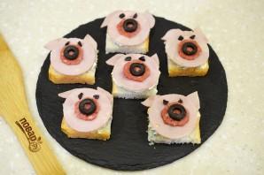 "Закуска ""Свинки"" - фото шаг 6"
