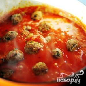 Спагетти с фрикадельками - фото шаг 22