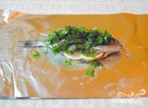 Дорада, запеченная с лимоном - фото шаг 4