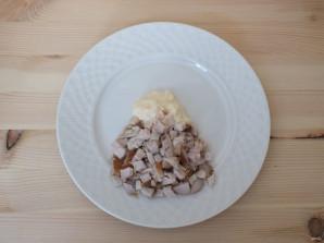 """Салат """"Эдельвейс"""" с корейской морковью - фото шаг 2"""