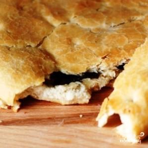 Фокачча с сыром и базиликом - фото шаг 10