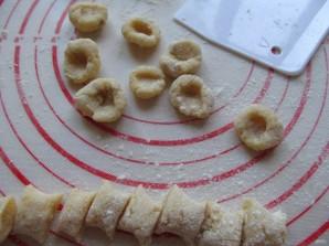 Картофельные ньокки с курицей и сыром - фото шаг 8