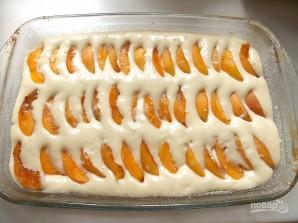 Быстрый пирог с абрикосами - фото шаг 7