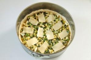 Вкусный пирог с зеленым луком и яйцами - фото шаг 9