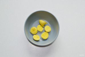 Яйца фаршированные тунцом - фото шаг 3