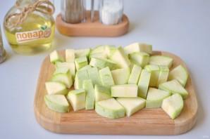 Салат из запечённых овощей - фото шаг 3
